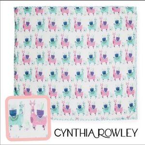 Cynthia Rowley Llama / Alpaca Outdoor Blanket.